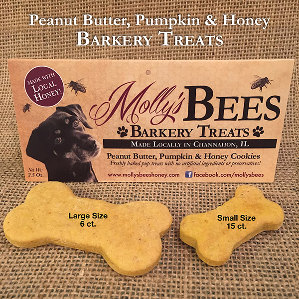 Peanut Butter, Pumpkin and Honey